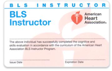 美国心脏协会BLS导师证书
