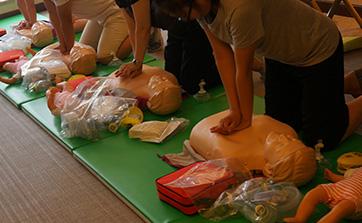 嘉高喜和的急救培训是一件非常有意义的事情
