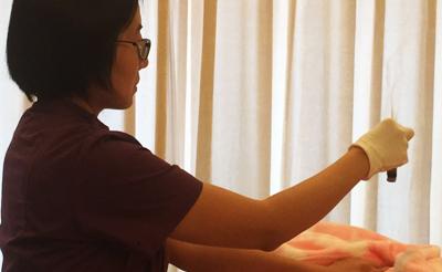 嘉高喜和健康管理中心的悬灸调理改善了我的月经不调症状