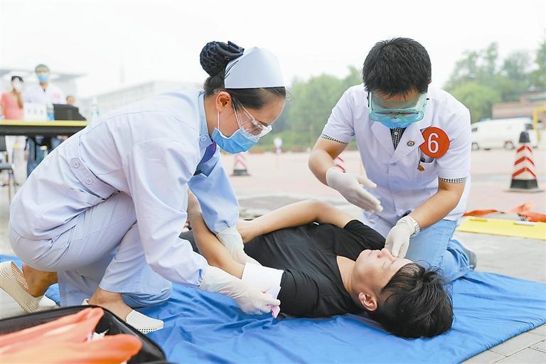 红十字应急救护课程-16学时